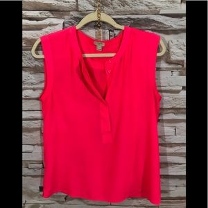 J.Crew Sleeveless Blouse Sz 6 (N31)